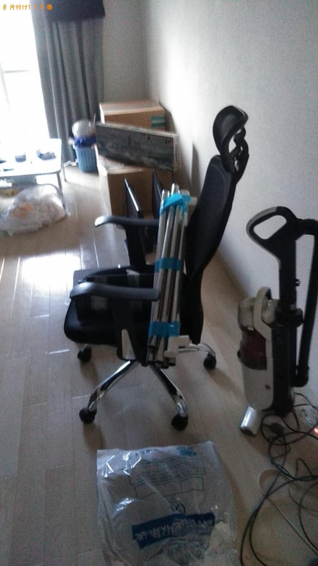 【西条市大町】テレビ、パソコン、モニタ、こたつ、椅子等の回収