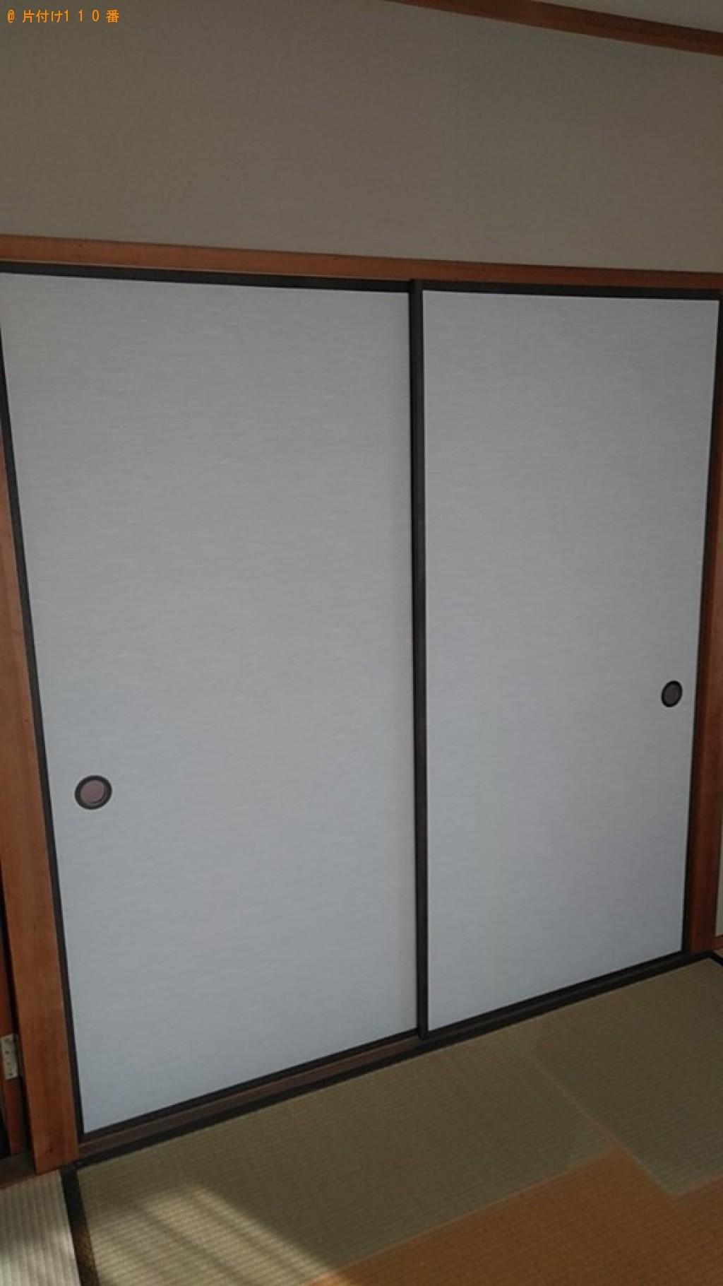 【伊予郡松前町】本棚、クローゼット、食器棚等の回収・処分ご依頼