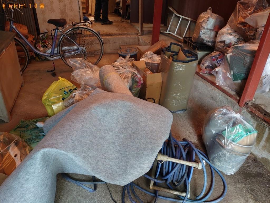 【今治市】タンス、カーペット、ホース、一般ごみ等の回収・処分