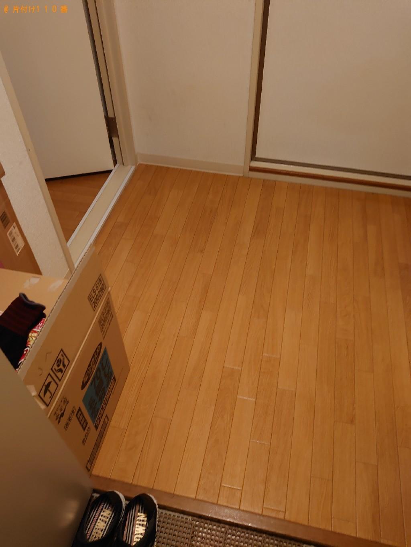 【松山市森松町】タンス、食器棚、二段ベッド等の回収・処分ご依頼