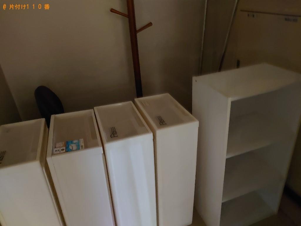 【今治市北日吉町】洗濯機、カーペット、カラーボックス等の回収