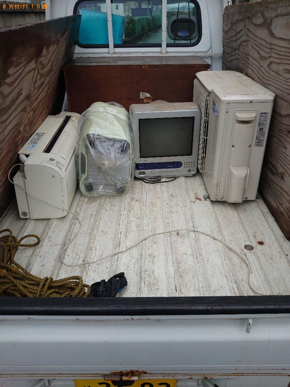 【松山市泊町】金庫、エアコン、テレビ等の回収・処分ご依頼