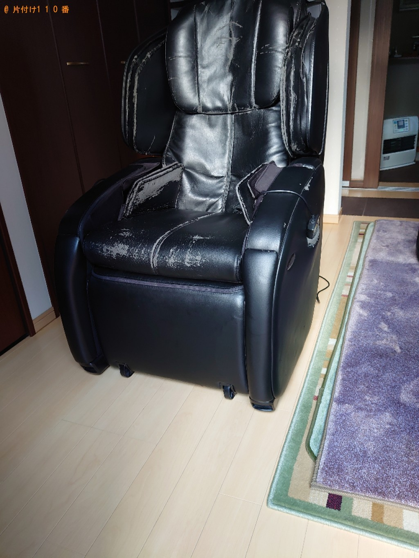 【伊予郡砥部町】マッサージチェア、鏡台、椅子の回収・処分ご依頼