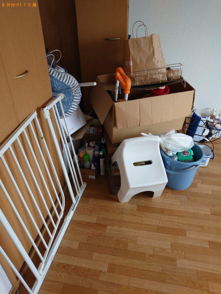 【松山市】冷蔵庫、洗濯機、食器棚、三人掛けソファーの回収