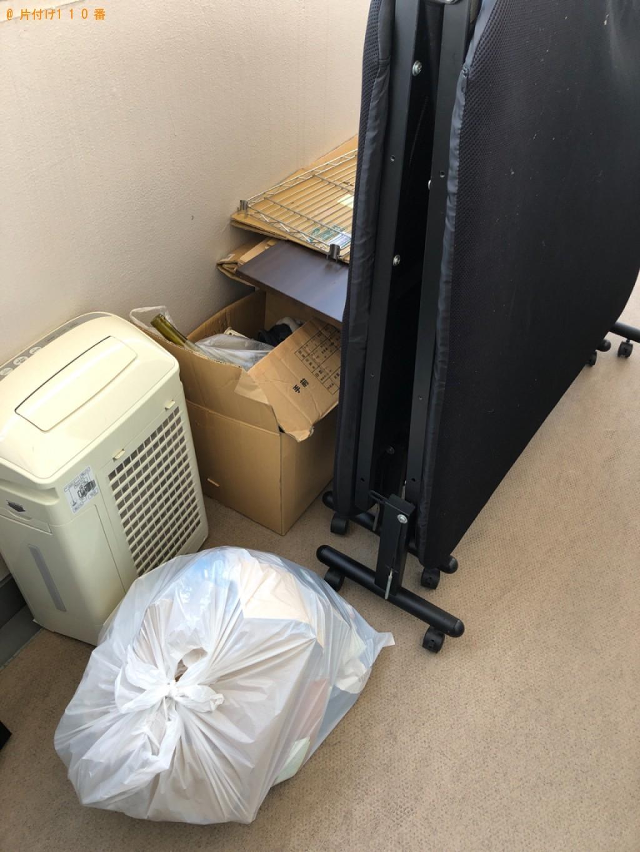 【松山市】折り畳みベッド、空気清浄機、一般ごみの回収・処分ご依頼