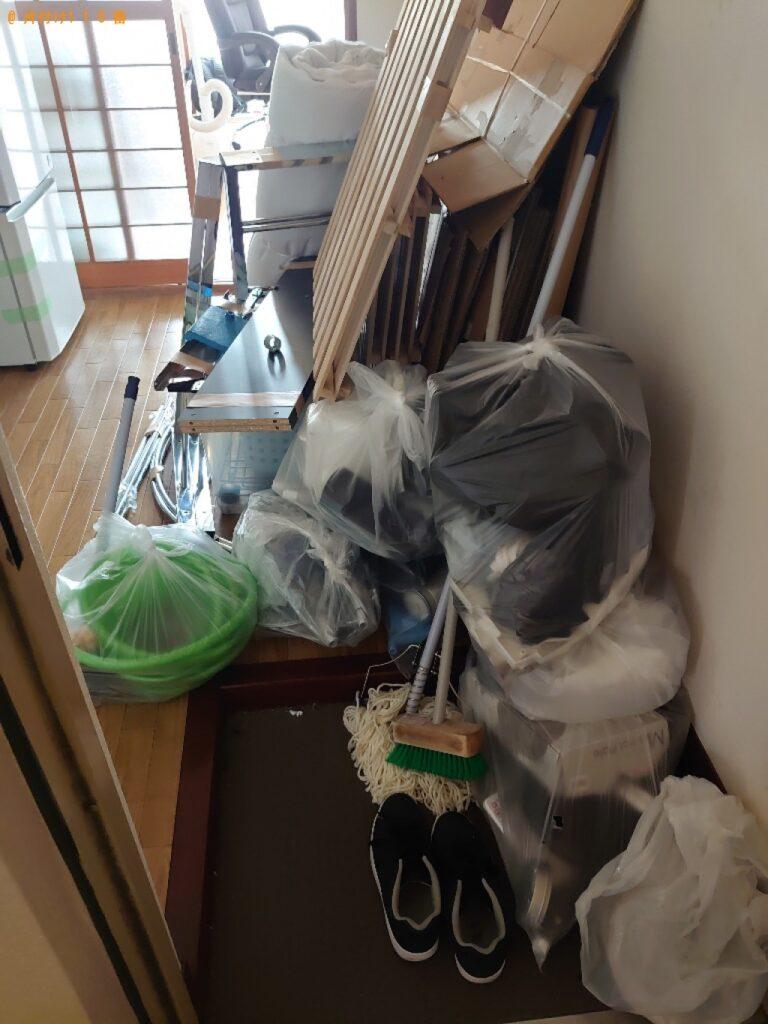 【三鷹市】冷蔵庫、本棚、PCデスク、一般ごみ等の回収・処分ご依頼