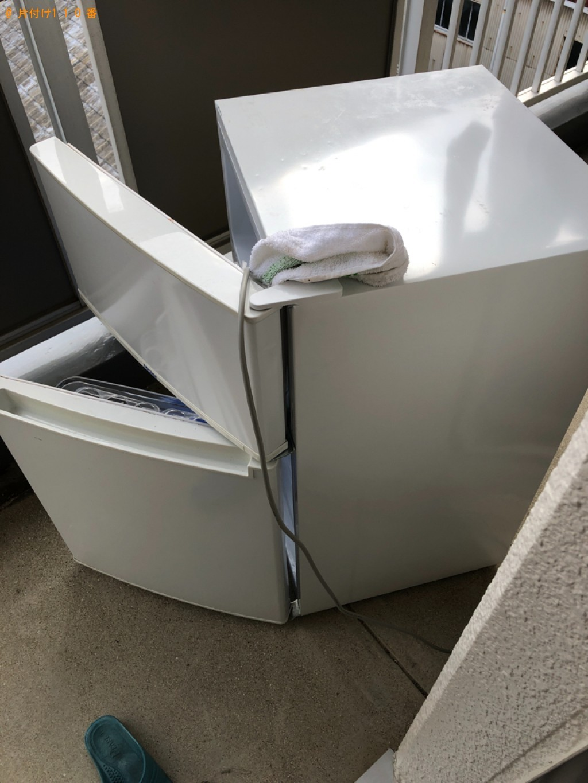 【今治市南高下町】冷蔵庫、洗濯機、折り畳みベッド等の回収・処分