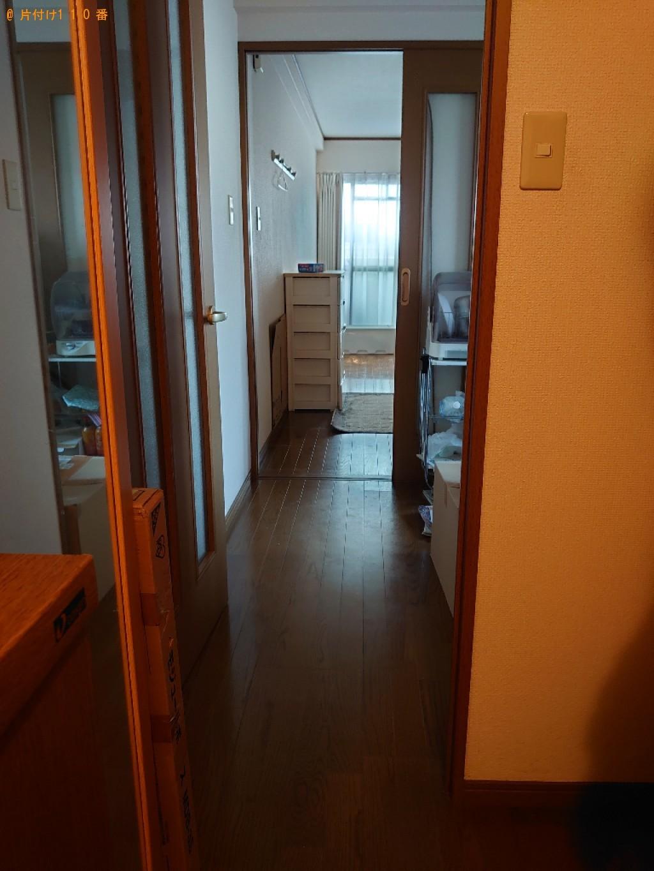 【松山市木屋町】シングルベッドの回収・処分ご依頼 お客様の声