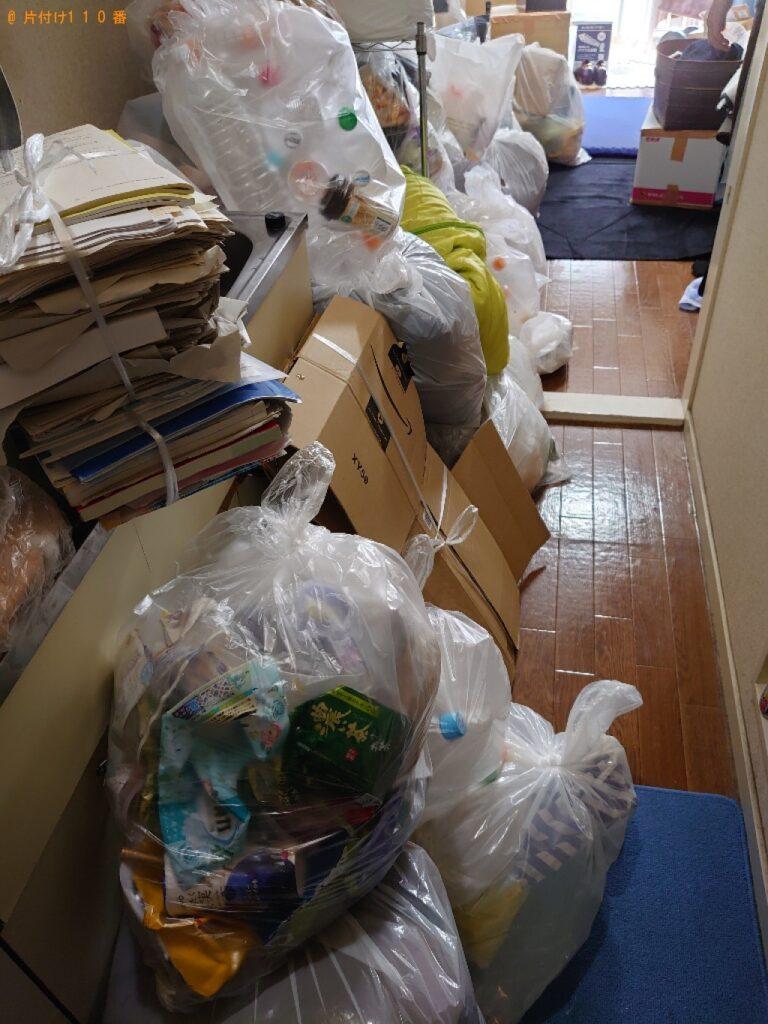 【荒川区】大量の一般ごみ、ダンボールの回収・処分ご依頼