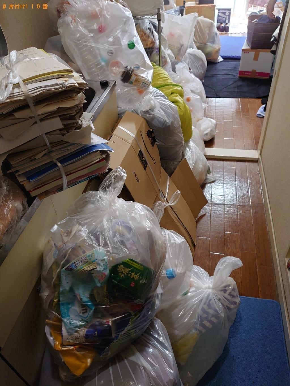 【松山市室町】大量の一般ごみ、ダンボールの回収・処分ご依頼