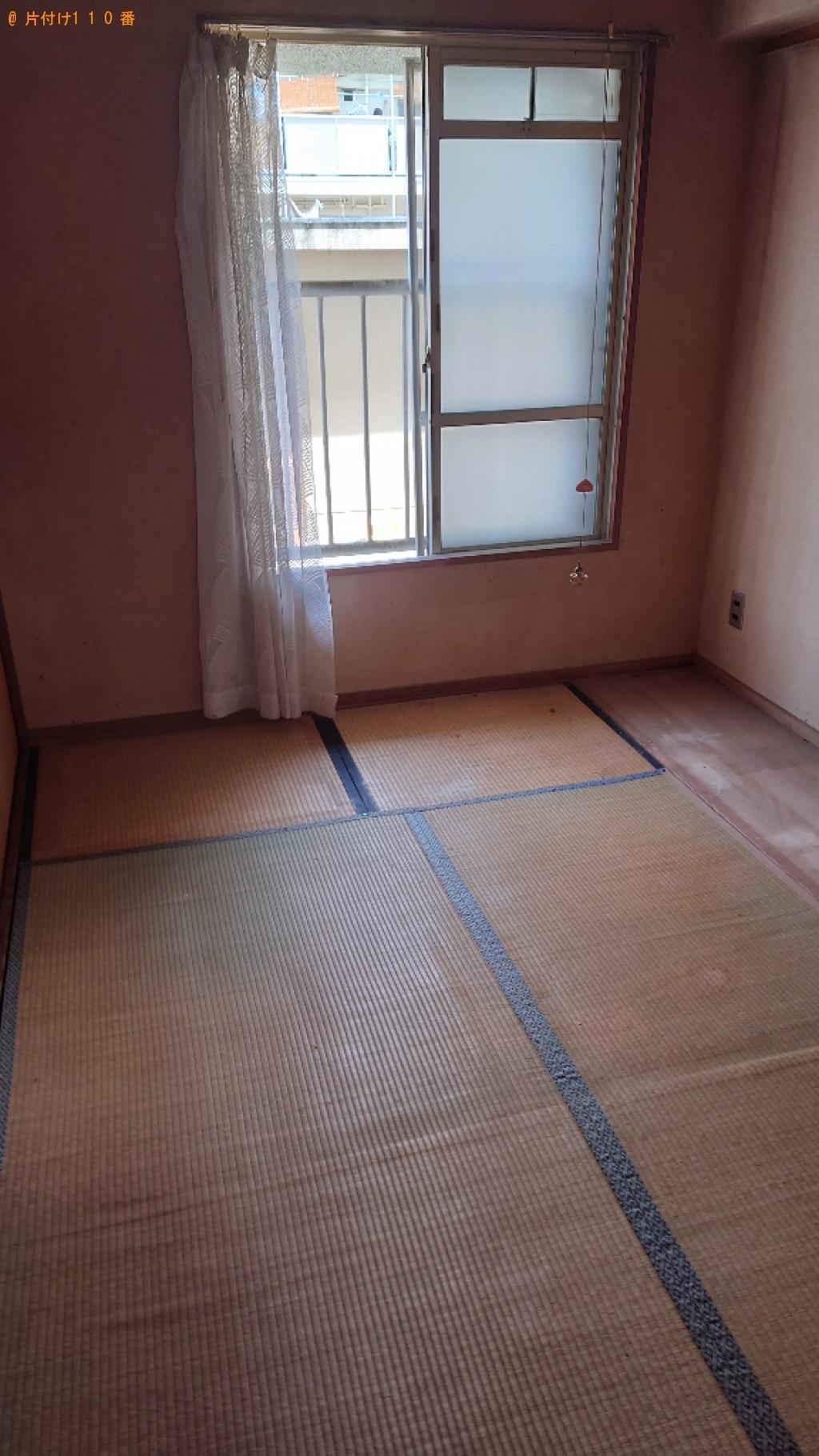【松山市富久町】タンス、仏壇、四人用ダイニングテーブル等の回収