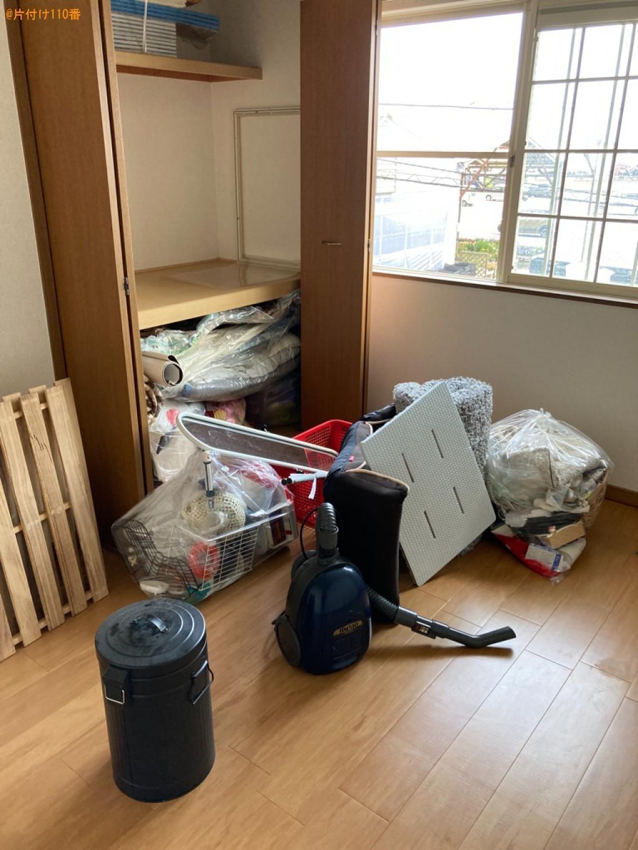 布団、掃除機、カゴ、照明器具、一般ごみ等の回収・処分ご依頼