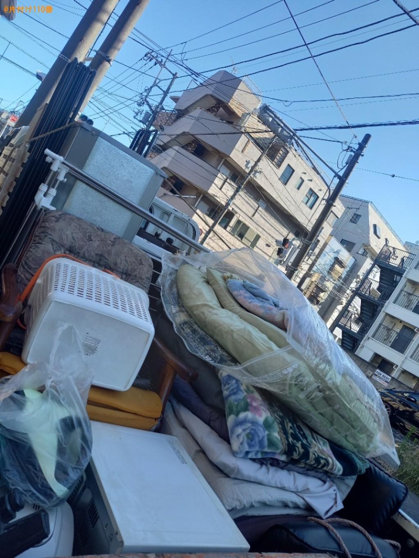 冷蔵庫、洗濯機、クローゼット、折り畳みベッド、ラック等の回収