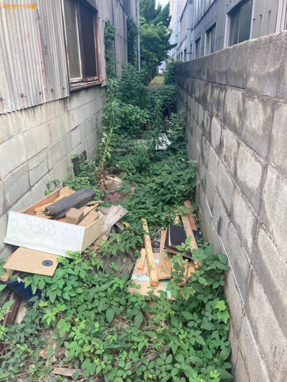 木材の回収・処分と草刈りご依頼 お客様の声