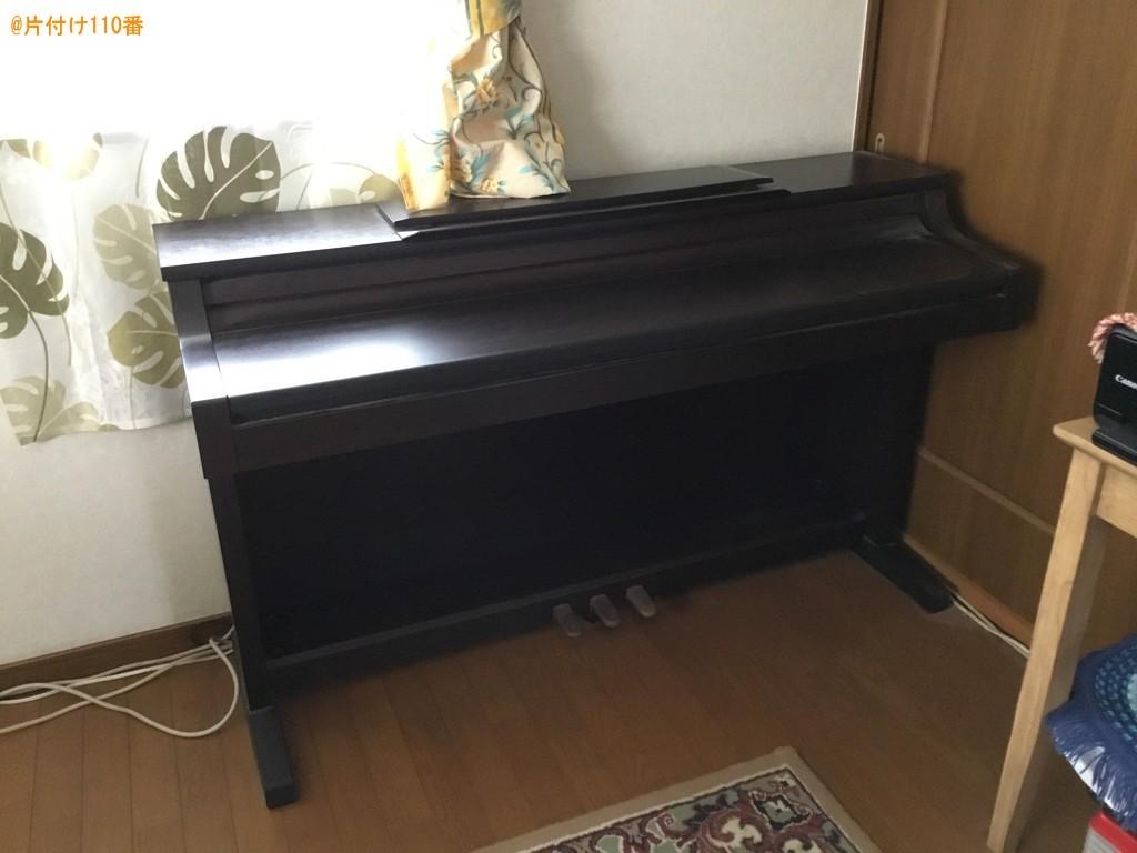 電子ピアノ、椅子、健康器具、ファンヒーターの回収・処分ご依頼